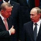 Erdoğan ve Putin'den Suriye görüşmesi!