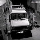 Hırsızlık zanlısı güvenlik kamerasını görünce dans etti