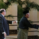 Şili, Zimbabve ve Malezya büyükelçileri güven mektubunu sundu