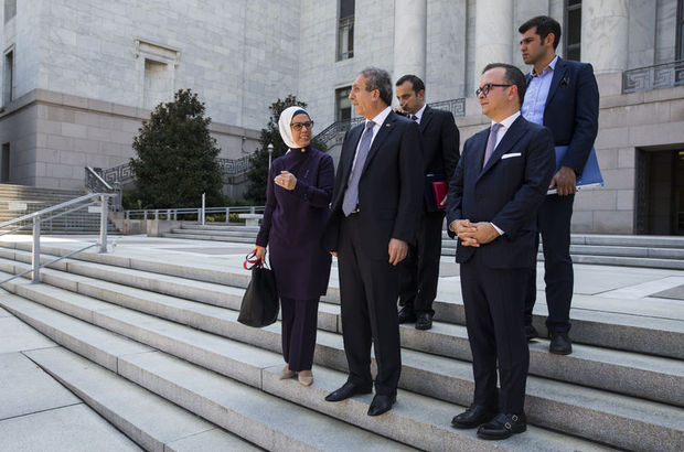 AK Parti heyeti Washington'da