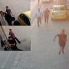 Adana'da iş yerine girmeye çalışan hırsızlar polisin dikkatinden kaçmadı!