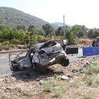 Muğla'da trafik kazasında 1 polis şehit oldu