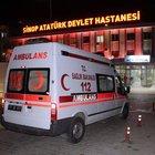 Sinop'ta aile cinayeti: 1 ölü, 2 yaralı