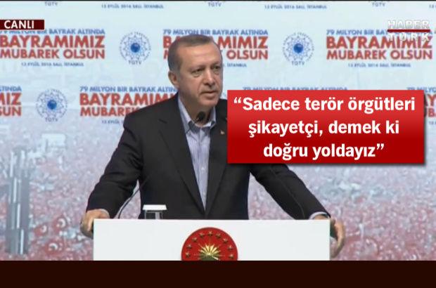 Cumhurbaşkanı: 'Seçilmiş görevden alınır mı' diyorlar, bal gibi de alınır!