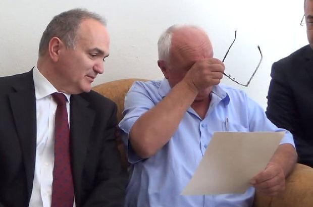 Başbakan Yıldırım'ın şehit babasını ağlatan mektubu!