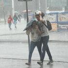 İstanbul'da öğleden sonra yağışa dikkat!