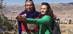 Hatice Aslan Peru tatilinden döndü