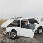 Aksaray'da kum fırtınası kazası: 10 yaralı