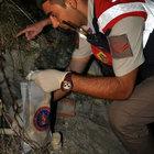 Bursa'da barajda insan kafatası ve kemikleri bulundu
