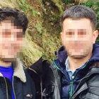 Trabzon'da 2 kardeşle babaları arasında nafaka kavgası çıktı