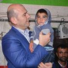 İçişleri Bakanı Soylu'dan şehit ailelerine ziyaret