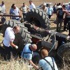 Tekirdağ'da kaza yapan sürücü 4 saat sonra fark edildi