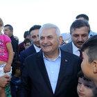 Başbakan Binali Yıldırım baba ocağında