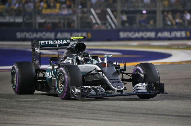 Rosberg'den peş peşe 3. zafer