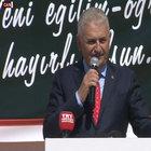 Başbakan Yıldırım öğretmenleri uyardı: Aranızda yaşatmayın!
