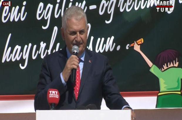 Başbakan Yıldırım öğretmenlere seslendi: Ne FETÖ'cü, ne bölücü; aranızda barındırmayın!