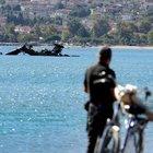 Yunan askeri helikopteri Ege'de düştü