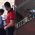Zonguldak'ta 3 yaşındaki çocuk kafasını demir parmaklıklara sıkıştırdı