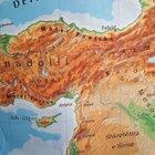 Kosova okullarında skandal Türkiye haritası!