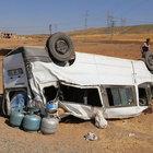 Siirt'te trafik kazası: 16 yaralı