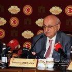 TBMM Başkanı Kahraman: Yedek vekillik için Anayasa çalışması yapılması gerekiyor