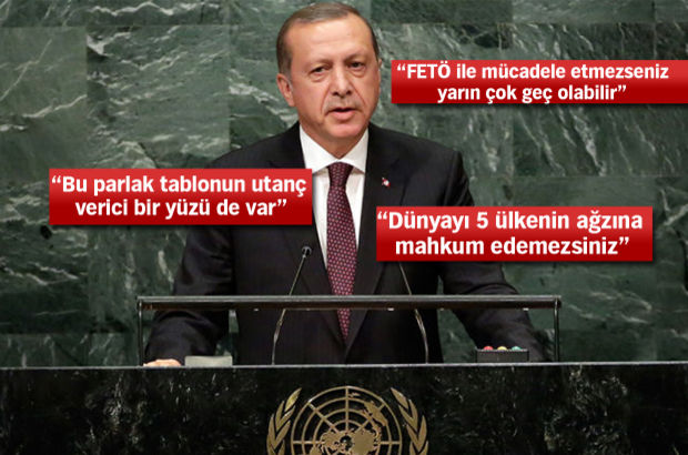 erdoğan BM ile ilgili görsel sonucu