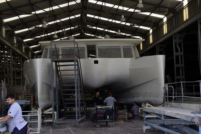 Antalya'da tamamen güneş enerjisiyle çalışan yat yapıldı