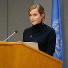 Emma Watson BM'de cinsiyet eşitliği için konuştu