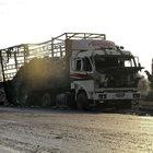 ABD'ye göre BM yardım konvoyunu Rusya vurdu