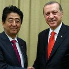 Cumhurbaşkanı Erdoğan, Japonya Başbakanı Abe ile görüştü