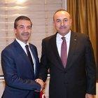 Dışişleri Bakanı Çavuşoğlu, KKTC'li mevkidaşı ile bir araya geldi