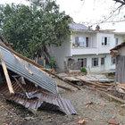 Samsun'da hortum maddi hasara yol açtı