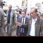 Bakanlar Trabzon'da sel felaketi sonrası incelemelerde bulundu