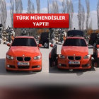 Türk mühendisler BMW'yi transformers'e çevirdi