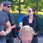 Angelina Jolie ve Brad Pitt'in kavga fotoğrafları ortaya çıktı