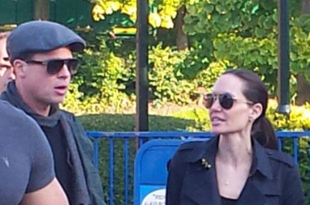 Angelina Jolie-Brad Pitt'in kavga fotoğrafları ortaya çıktı