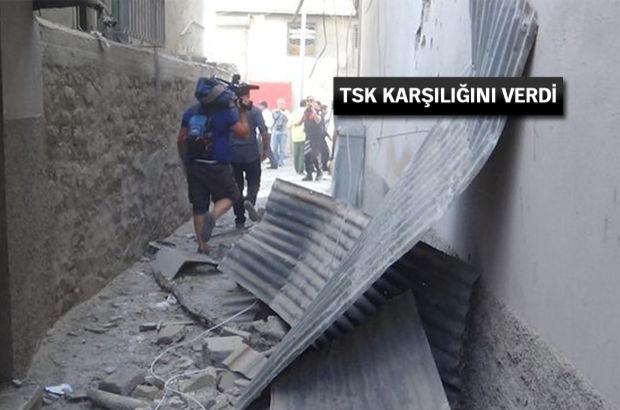 Suriye'den atılan roket Kilis'te pazar yerine düştü! 8 yaralı