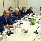 Cumhurbaşkanı Erdoğan, Musevi kuruluşların temsilcilerini kabul etti