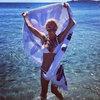 Ibiza'dan tatil pozu