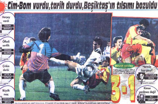 Unutulmaz Beşiktaş-Galatasaray derbileri