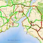 İstanbul'da yol durumu