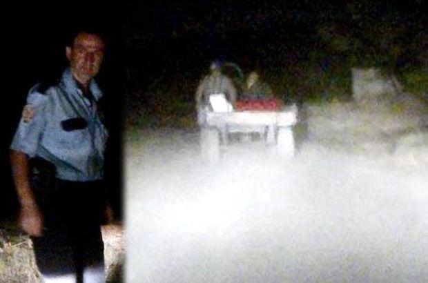 Edirne'de at arabasıyla kaçan hırsızlar böyle yakalandı