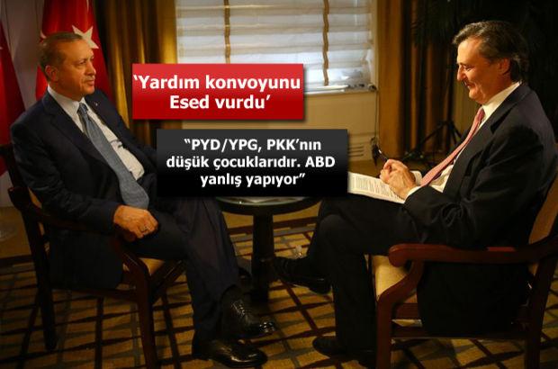 Cumhurbaşkanı Erdoğan Bloomberg'e konuştu