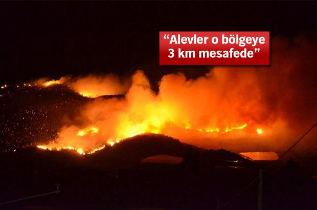 Mersin'deki yangın büyüyor! Vali'den açıklama