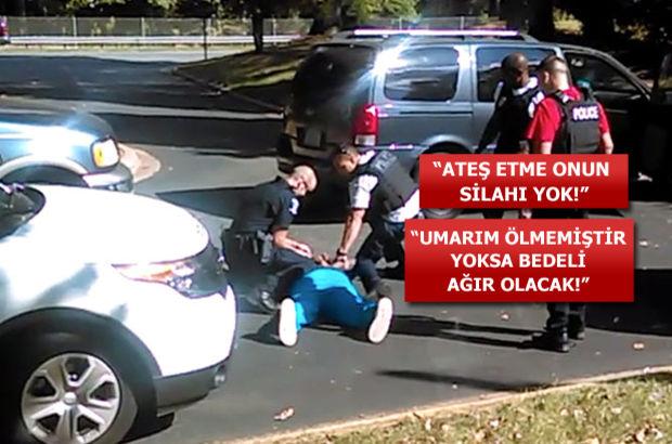 ABD'deki polis şiddetinin görüntüleri ortaya çıktı