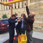 CHP'liler, Anıtkabir'e yapılan oyun parkını söktü