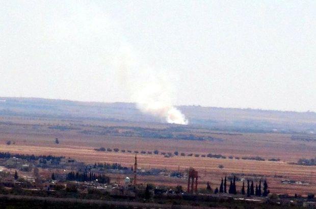TSK: Fırat Kalkanı harekatının 32'nci gününde 38 DEAŞ hedefine 101 atış yapıldı