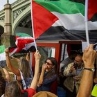 LONDRA'DA GAZZE YOLUNDAKİ 'ÖZGÜRLÜK FİLOSU'NA DESTEK