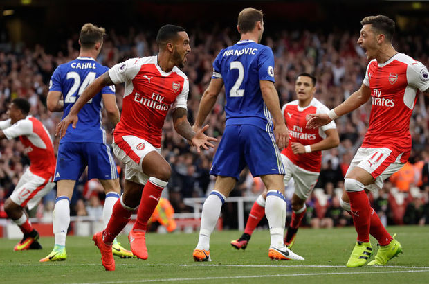 Arsenal: 3 - Chelsea: 0