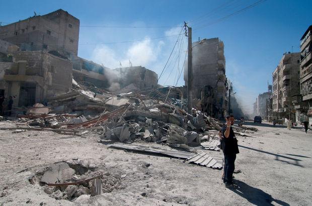 Dışişleri'nden Halep'teki saldırılara kınama